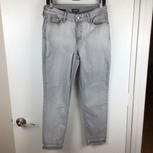 NYDJ | Alina Ankle Grey Jeans